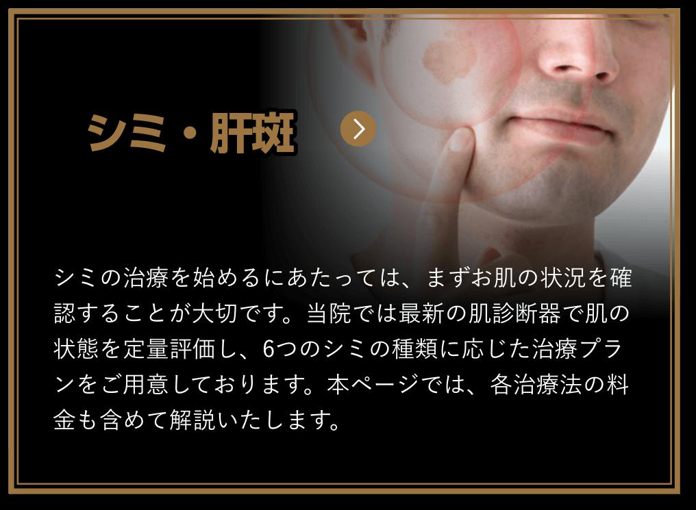 シミ・肝斑