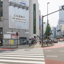 JR新宿駅南口から徒歩3分:クリニックまでの道順